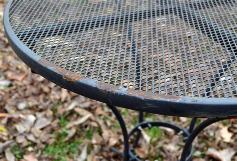 how to restore metal outdoor furniture restore metal outdoor furniture to quot like new quot