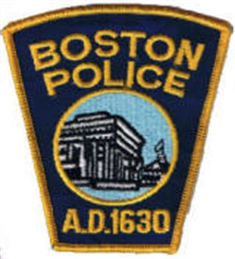 U Mass Boston Pink by U S A Patches Sheriff Patches