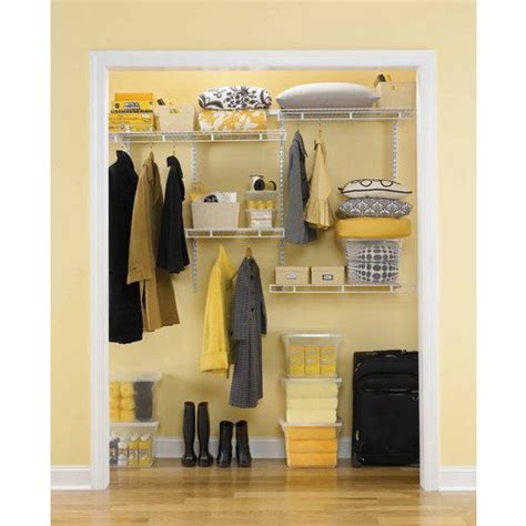 rubbermaid closet kit home depot rubbermaid rubbermaid multi purpose closet kit the home