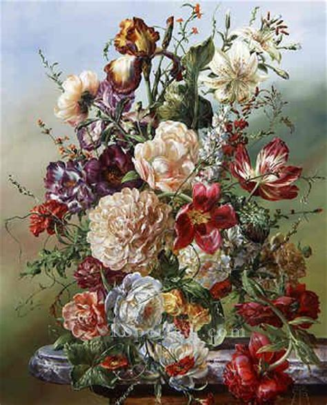 Classic Flower fl049e classic flower painting in for sale