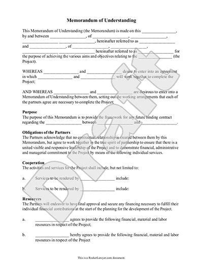 o m agreement template memorandum of understanding form mou template with