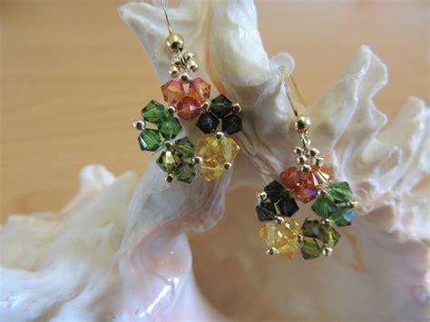 fiore swarovski orecchini fiore swarovski gioielli orecchini di