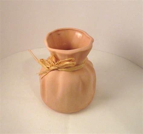 small sack vase country kitchen terra cotta pottery