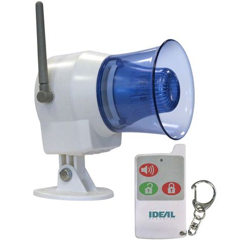 ideal security wireless indoor or outdoor siren with