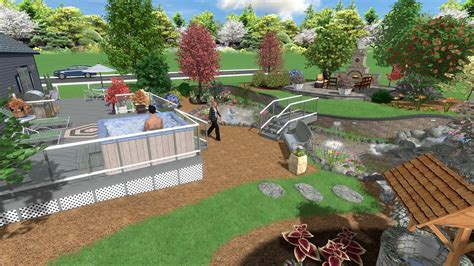 Backyard Landscaping Software by Landscape Design Software Gallery