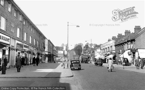 Shopping For Blinds South Chingford Old Church Road C 1955 Francis Frith