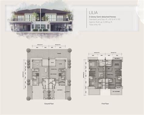 setia walk floor plan new development lepironia gardens by sp setia bhd group