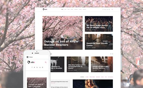 joomla portal template news joomla theme