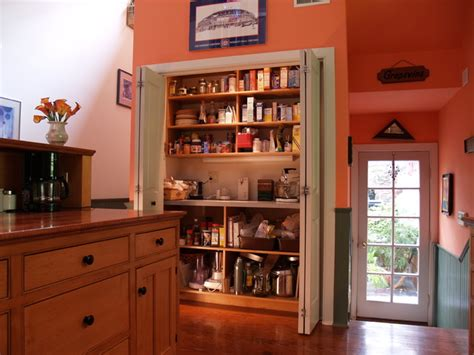interior of large pantry cabinet eclectic kitchen the working pantry clutter fighter eclectic kitchen