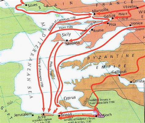 the third crusade map third crusade map thirdcrusade gif 358843 bytes