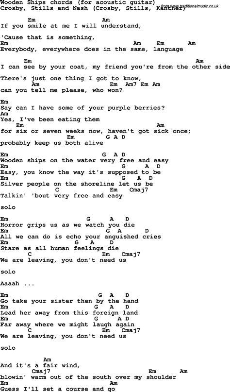wooden boat lyrics dye blog