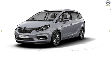 opel zafira 2017 opel zafira facelift leaked on gm website here are