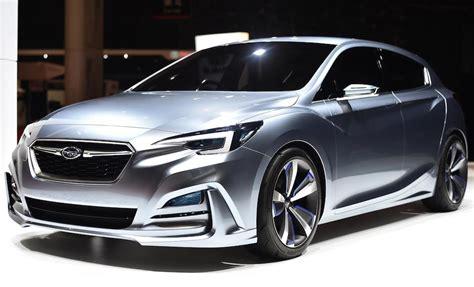 subaru impreza 5 door concept unveiled in tokyo