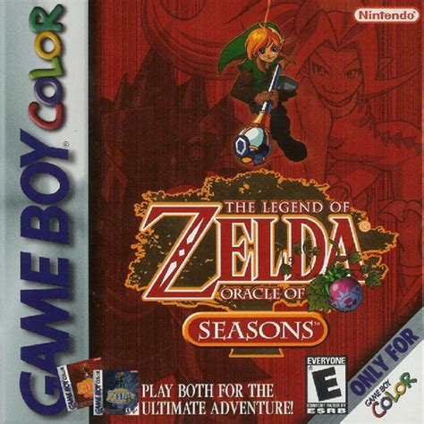 emuparadise oracle of ages legend of zelda the oracle of seasons usa rom