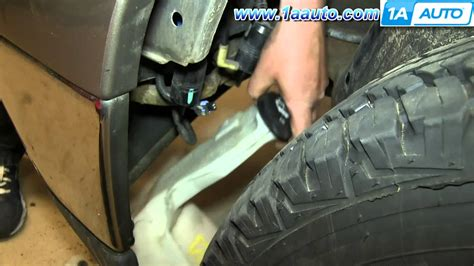 ls out of bottles how to install replace leaking windshield washer fluid