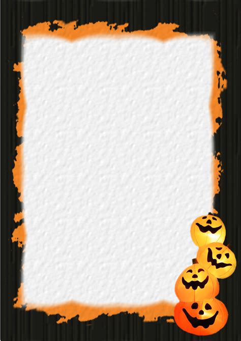 free stationery com halloween template downloads
