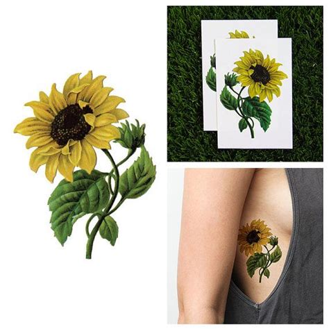 sunflower henna tattoo 1000 ideas about sunflower tattoos on tattoos