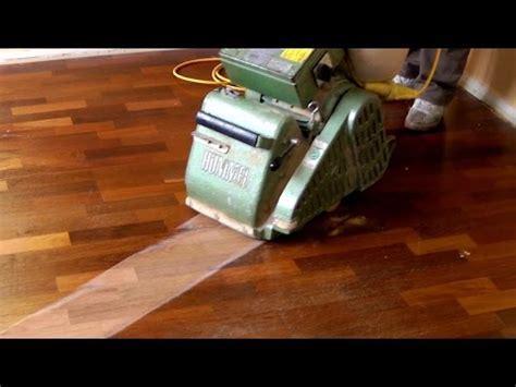 Sanding and Refinishing Hardwood Floors (step by step