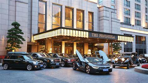 The Ultimate Luxury the ultimate luxury limousine fleet the peninsula shanghai