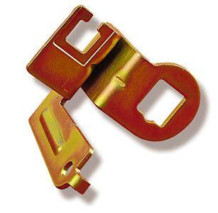 universal throttle valve cable bracket for edelbrock and