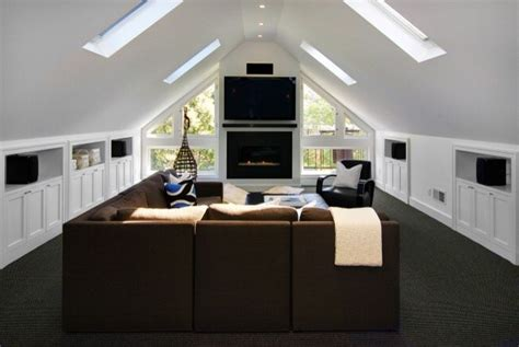 convert attic to room nifty ideas for the attic living room