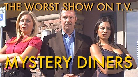 On Television the worst show on television mystery diners