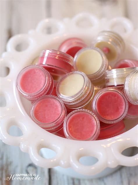 Handmade Lipbalm - 10 minute diy lip balm happiness is