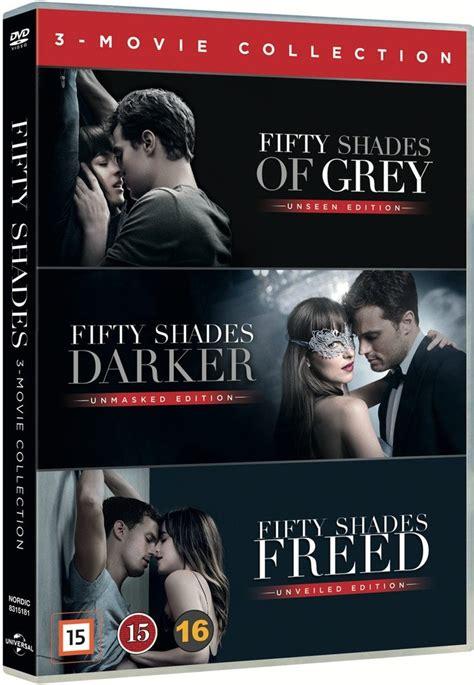 film fifty shades of grey trilogy fifty shades trilogy box set dvd film dvdoo dk