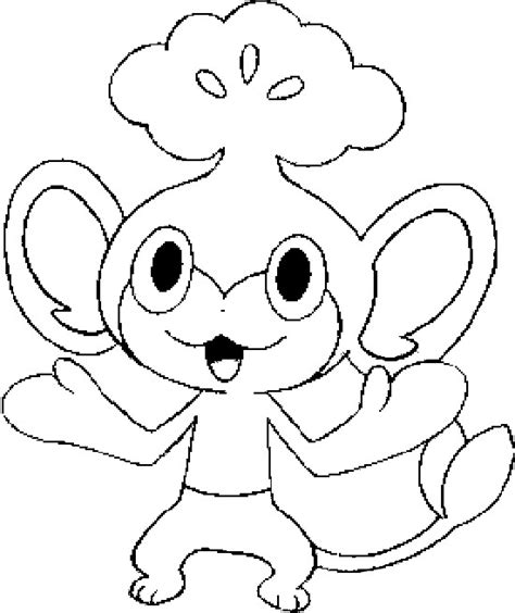 Pokemon Coloring Pages Pansage | coloring pages pokemon pansage drawings pokemon