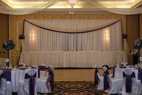 wall drapes for wedding reception dhl wedding curtain backdrops wedding stage decorations