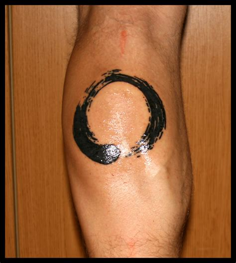 enso circle tattoo enso by absenceofmeaning on deviantart