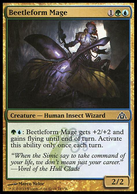 beetleform mage infos zur magic the gathering karte