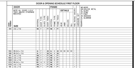 Door Schedule Arutils Arlegend Door Schedules In Revit Quot Quot Sc Quot 1 Quot St Quot Quot Youtube Door Schedule Template