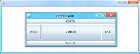 javascript borderlayout java borderlayout with vertical horizontal gap java