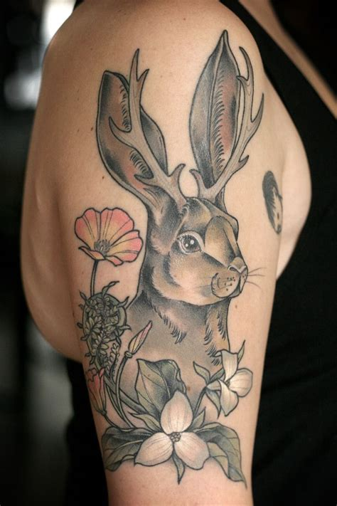 jackalope tattoo 155 best images about skin ink on ink