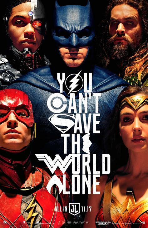 Dc Justice League 2017 sdcc 2017 a new justice league poster has dropped dc comics news