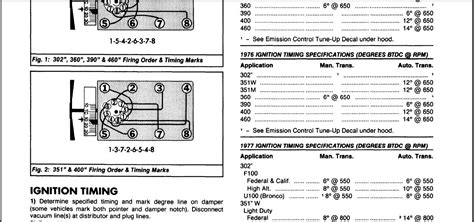 100 ford 460 spark wire diagram