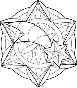 Yellow House Aa Furthermore Christmas Mandala Coloring Pages sketch template
