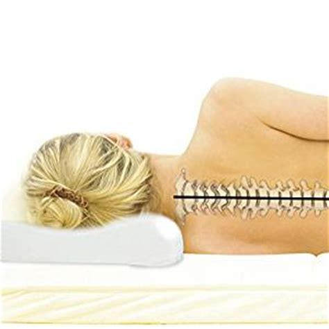 Best Pillow For Neck Relief by Memory Foam Contour Pillow By Stylla Best