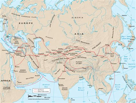 silk road map distant past silk route august 2010