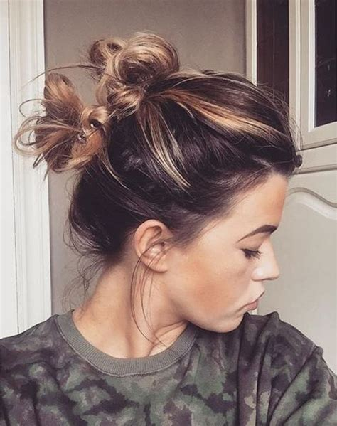 messy hairstyles games best 25 double buns ideas on pinterest hair buns twist