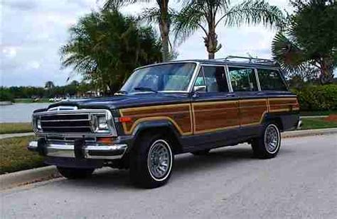 1988 Jeep Grand Wagoneer For Sale Sell Used 1988 Jeep Grand Wagoneer 4x4 In Apollo