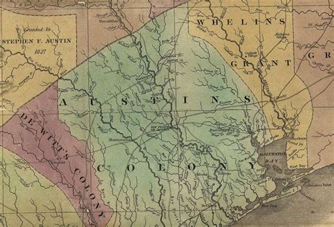 texas colonies map 17 best images about texas and other maps on arkansas indian and mexico