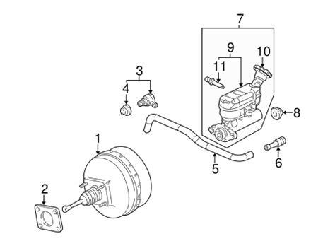 2004 Buick Rendezvous Rear Break Replacement Procedure