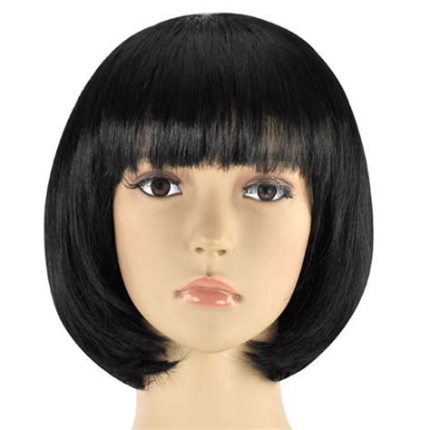 With Wig On by Womens Bob Wig Fancy Dress Wigs Pop