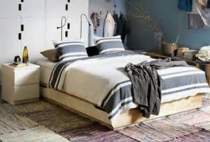 tempat tidur laci perabot kamar tidur ikea