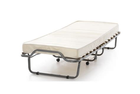Small Folding Bed Serene Luxor Small Single Folding Guest Bed By Serene Furnishings