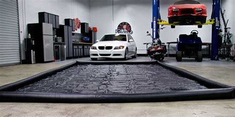 Wash Water Garage by Chemical Guys Car Wash Mat Water Containment Mat Water