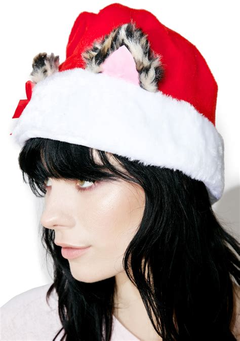 cat ears santa hat dolls kill