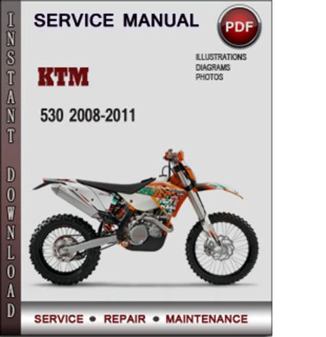 2010 Ktm 530 Exc Problems Ktm 530 2008 2011 Factory Service Repair Manual